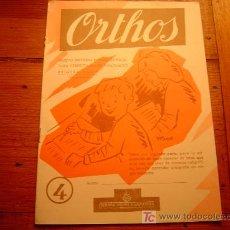 Libros de segunda mano: CUADERNO DE ESCRITURA ORTHOS PRIMERA PARTE Nº4 SALVATELLA 1959. Lote 19766153