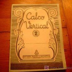Libros de segunda mano: CALCO VERTICAL Nº2 SALVATELLA. Lote 19766156