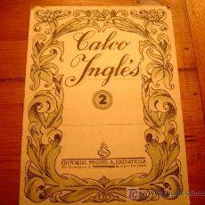 Libros de segunda mano: CALCO INGLES Nº2 SALVATELLA. Lote 19766161