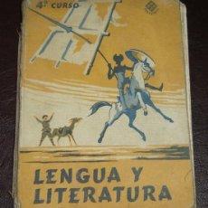 Libros de segunda mano: LENGUA Y LITERATURA 4ºCURSO - EDELVIVES 1965. Lote 15682626