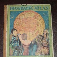 Libros de segunda mano: GEOGRAFIA-ATLAS 2ºGRADO-RAFAEL BALLESTER-DALMAU CARLES GERONA 1945 GRADO MEDIO. Lote 17455974