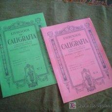 Libros de segunda mano: EJERCICIOS DE CALIGRAFIA EDELVIVES Nº 1 Y 4 - AÑOS 40?. Lote 125845543