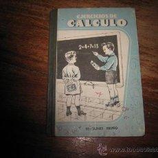 Libros de segunda mano: EJERCICIOS DE CALCULO BRUÑO . Lote 7950657