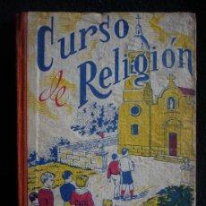 Libros de segunda mano: CURSO DE RELIGION PARA NIÑOS Y NIÑAS, MARIANO VILLAPUN. ED. JUAN BRAVO. 1ED.1940. 103 PAG.. Lote 26787657