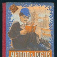 Libros de segunda mano: METODO DE INGLES. PRIMER GRADO. EDITORIAL LUIS VIVES. 1954. 147 PAGINAS.. Lote 98808696