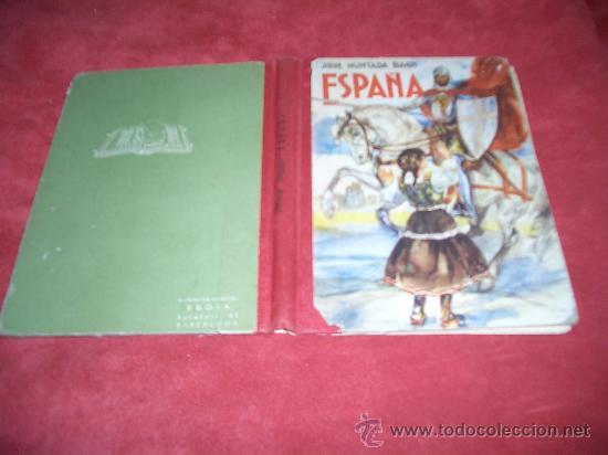 ESPAÑA LECTURAS DE HISTORIA PATRIA (Libros de Segunda Mano - Libros de Texto )