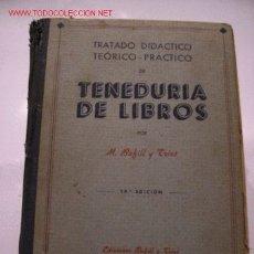 Libros de segunda mano - TENEDURIA DE LIBROS **M. BOFILL Y TRIAS** - 2375288
