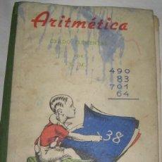 Libros de segunda mano: ARITMÉTICA GRADO ELEMENTAL, DE S.M.. Lote 21395163