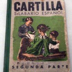 Libros de segunda mano: ANTIGUO LIBRO CARTILLA SILABARIO ESPAÑOL SEGUNDA PARTE - 50 PAGINAS CON ILUSTRACIONES A COLOR - ILUS. Lote 25345492