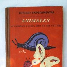 Libros de segunda mano: ESTUDIO ESPERIMENTAL ANIMALES --1941 -SEIX Y BARRAL. Lote 22439072