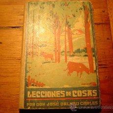 Libros de segunda mano - Libro escuela lecciones de cosas por J. Dalmau Carles 1941 - 12482651
