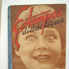 Libros de segunda mano: ESTAMPAS DIDACTICA-1941-LECCIONES DE INICIACION ESCOLAR PARA PARVULOS-SALVATELLA. Lote 24035479