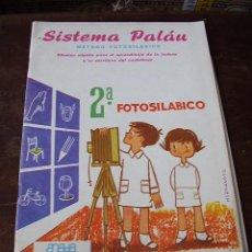 Libros de segunda mano: SISTEMA PALÁN MÉTODO FOTOSILÁBICO ANAYA. Lote 26172945
