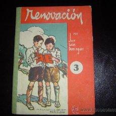 Libros de segunda mano: LIBRO ESCUELA RENOVACIÓN.. Lote 15397588