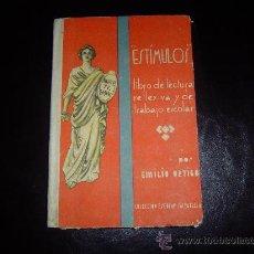 Libros de segunda mano: LIBRO ESCUELA ESTIMULOS. Lote 17215723