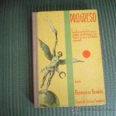 Libros de segunda mano: LIBRO ESCUELA PROGRESO. Lote 17215733