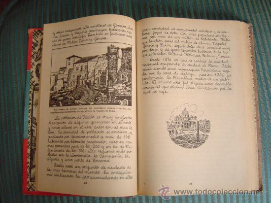Libros de segunda mano: Libro escuela Europa y sus grandes ciudades - Foto 2 - 15500436