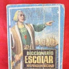 Libros de segunda mano: DICCIONARIO ESCOLAR HISPANOAMERICANO 1965 EDITORIAL VASCO AMERICANA. Lote 21670810