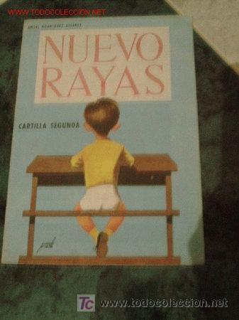 NUEVO RAYAS.- CARTILLA ESCOLAR..-EDT. SÁNCHEZ RODRIGO.-1966 (Libros de Segunda Mano - Libros de Texto )