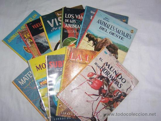 LIBROS DE ORO DEL SABER - LOTE DE 4 LIBROS -EDICIONES NOVARO - (Libros de Segunda Mano - Libros de Texto )