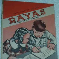 Libros de segunda mano: CARTILLA RAYAS TERCERA PARTE - 3ª -- SANCHEZ RODRIGO 1961. Lote 26680401