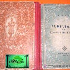 Libros de segunda mano: LIBRO USADO DE PROBLEMAS, LUIS VIVES, DE EDELVIVES AÑO 1951. Lote 26402606
