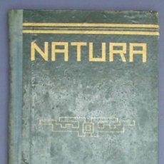 Libros de segunda mano: NATURA. JOSÉ JUNQUERA MUNÉ. DALMAU CARLES PLA. GERONA/MADRID, 1944.. Lote 13792920