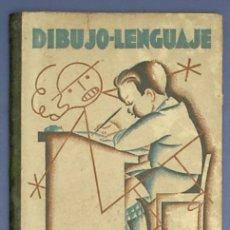 Libros de segunda mano: DIBUJO LENGUAJE. INICIACIÓN DEL DIBUJO EN LA ESCUELA. LIBRO DEL MAESTRO. MAGISTERIO ESPAÑOL. M, 1940. Lote 13793490