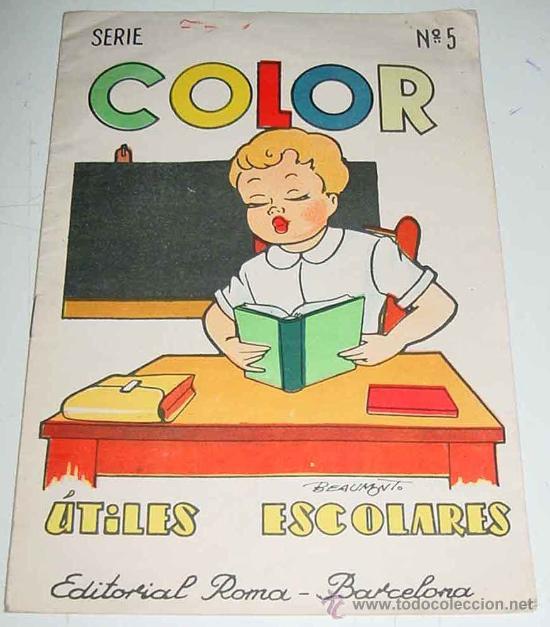 Cuaderno Para Colorear Utiles Escolares Serie Sold Through