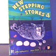 Libros de segunda mano: NEW STEPPING STONES 4;J.ASHWORTH/J.CLARK;LONGMAN 1998. Lote 14875816