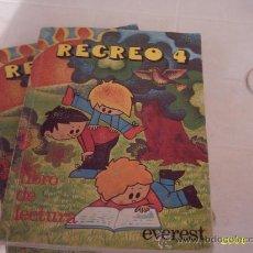 Libros de segunda mano: LOTE DE 10 ANTIGUOS LIBROS DE LECTURA RECREO 4 EVEREST-79. Lote 27632537