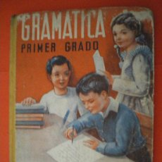 Libros de segunda mano: GRAMÁTICA PRIMER GRADO 1946 EDITORIAL LUIS VIVES LIBRO ESCOLAR. Lote 27187067
