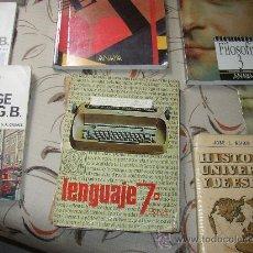 Libros de segunda mano: LENGUAJE 7 EGB SM. Lote 26647824