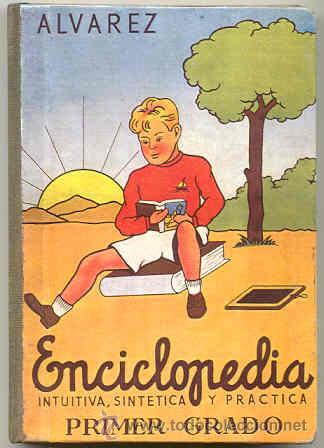 Enciclopedia alvarez de primer grado - edicion - Vendido