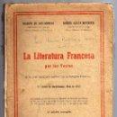 Libros de segunda mano: LITERATURA FRANCESA POR LOS TEXTOS - 5º CURSO BACHILLERATO - PLN 1957.. Lote 15967542