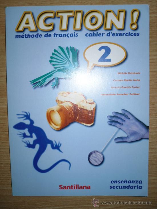 LIBRO DE TEXTO. ACTION 2 CAHIER D, EXERCICES FRANCES (Libros de Segunda Mano - Libros de Texto )