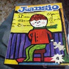 Libros de segunda mano: 4ª CARTILLA JUANSIO Nº 4 - METODO SILABICO-ILUSTRADA POR NIÑOS. Lote 207097750