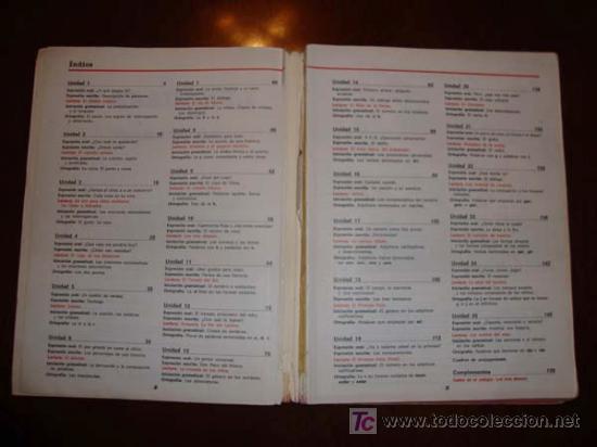 Libros de segunda mano: LENGUAJE 4º EGB EDITORIAL SANTILLANA CUARTO EDUCACION GENERAL BASICA EDICION 1982 - Foto 6 - 29075925