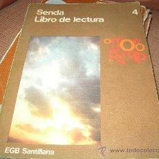 Libros de segunda mano: SENDA 4 SANTILLANA. Lote 24377993