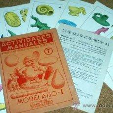 Libros de segunda mano: ACTIVIDADES MANUALES -MODELADO I- SALVATELLA Nº 7 - CONTIENE 8 LAMINAS A COLOR Y LIBRETO DE 8 PG-VER. Lote 17092171