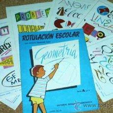 Libros de segunda mano: ROTULACION ESCOLAR -- GEOMETRIA - A Nº 7 -- CARPETA CON SOLO 5 LÁMINAS -- 1960-IMPORTANTE LEER TODO. Lote 17093887