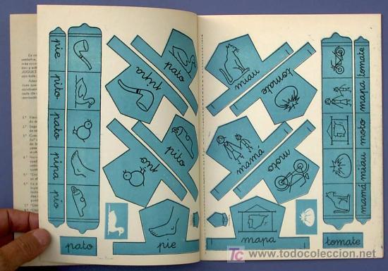 Libros de segunda mano: JUGUETES Y PALABRAS. 1ª PARTE. CARTILLA RECORTABLE. JUAN JOSE ORTEGA UCEDO. EDIT. RUIZ ROMERO, S/F. - Foto 3 - 21991650