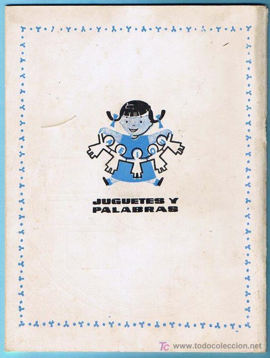 Libros de segunda mano: JUGUETES Y PALABRAS. 1ª PARTE. CARTILLA RECORTABLE. JUAN JOSE ORTEGA UCEDO. EDIT. RUIZ ROMERO, S/F. - Foto 5 - 21991650