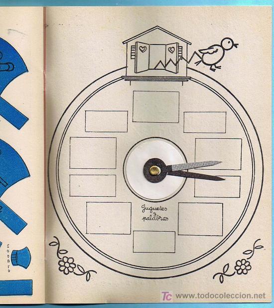 Libros de segunda mano: JUGUETES Y PALABRAS. 3ª PARTE. CARTILLA RECORTABLE. JUAN JOSE ORTEGA UCEDO. EDIT. RUIZ ROMERO, S/F. - Foto 4 - 22038049
