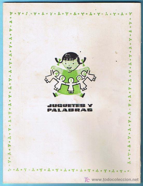 Libros de segunda mano: JUGUETES Y PALABRAS. 3ª PARTE. CARTILLA RECORTABLE. JUAN JOSE ORTEGA UCEDO. EDIT. RUIZ ROMERO, S/F. - Foto 5 - 22038049