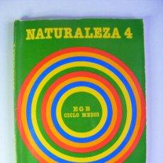Libros de segunda mano: NATURALEZA 4, CICLO MEDIO, SANTILLANA. Lote 54077998