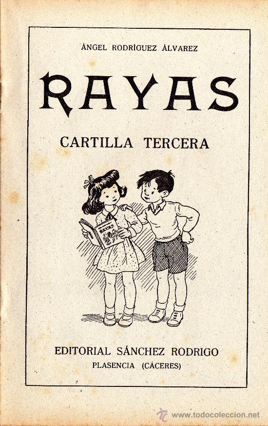 RAYAS - CARTILLA TERCERA - VER FOTOS. - AÑO 1958 (Libros de Segunda Mano - Libros de Texto )