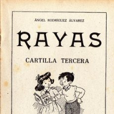 Libros de segunda mano: RAYAS - CARTILLA TERCERA - VER FOTOS. - AÑO 1958. Lote 25666170