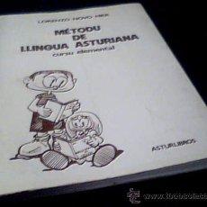 Livros em segunda mão: METODU DE LLINGUA ASTURIANA. CURSU ELEMENTAL. LORENZO NOVO MIER. ASTURLIBROS, 1979. RUSTICA.. Lote 17748318
