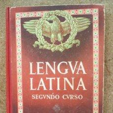 Libros de segunda mano: LIBRO ESCOLAR , LENGUA LATINA , SEGUNDO CURSO 1954 , EDITORIAL LUIS VIVES. Lote 24804649